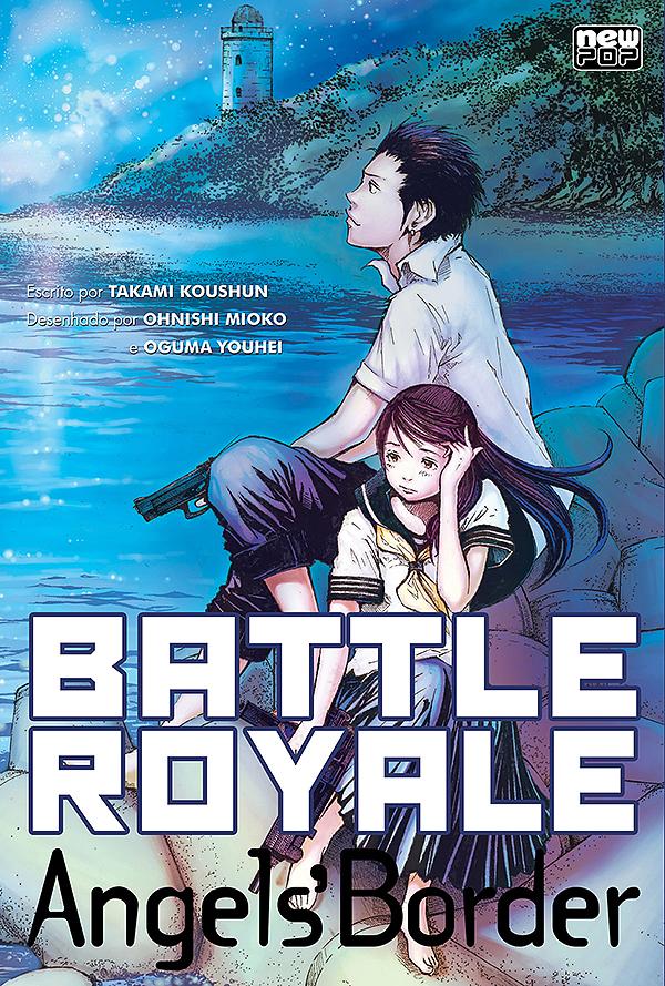 Resultado de imagem para livro e mangá battle royale